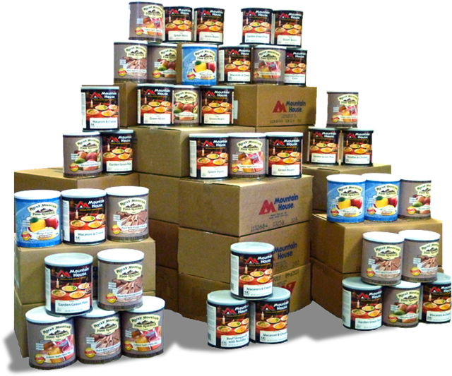 Perishable Cans of Food for Disaster Relief